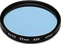 Hoya 72mm Standard 82B Blue Filter