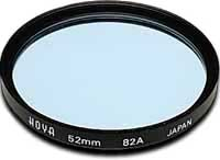 Hoya 77mm Standard 82A Blue Filter