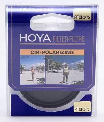 Hoya 82mm Circular Polarizer PL-CIR Glass Filter