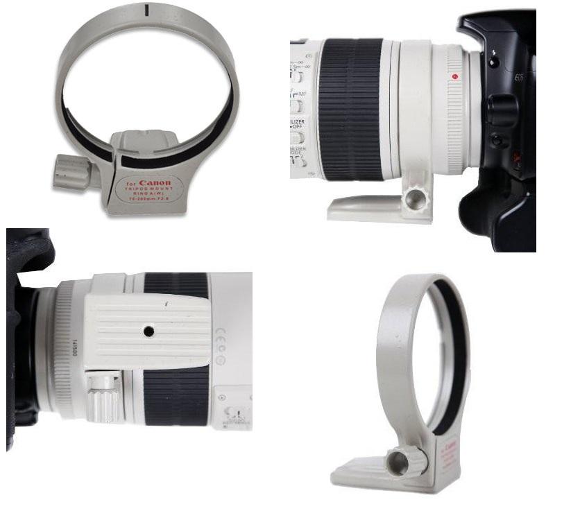 Micnova MQ-TMR2 Tripod Mount Canon 70-200 F2.8 IS USM Lens UK Stock 12066