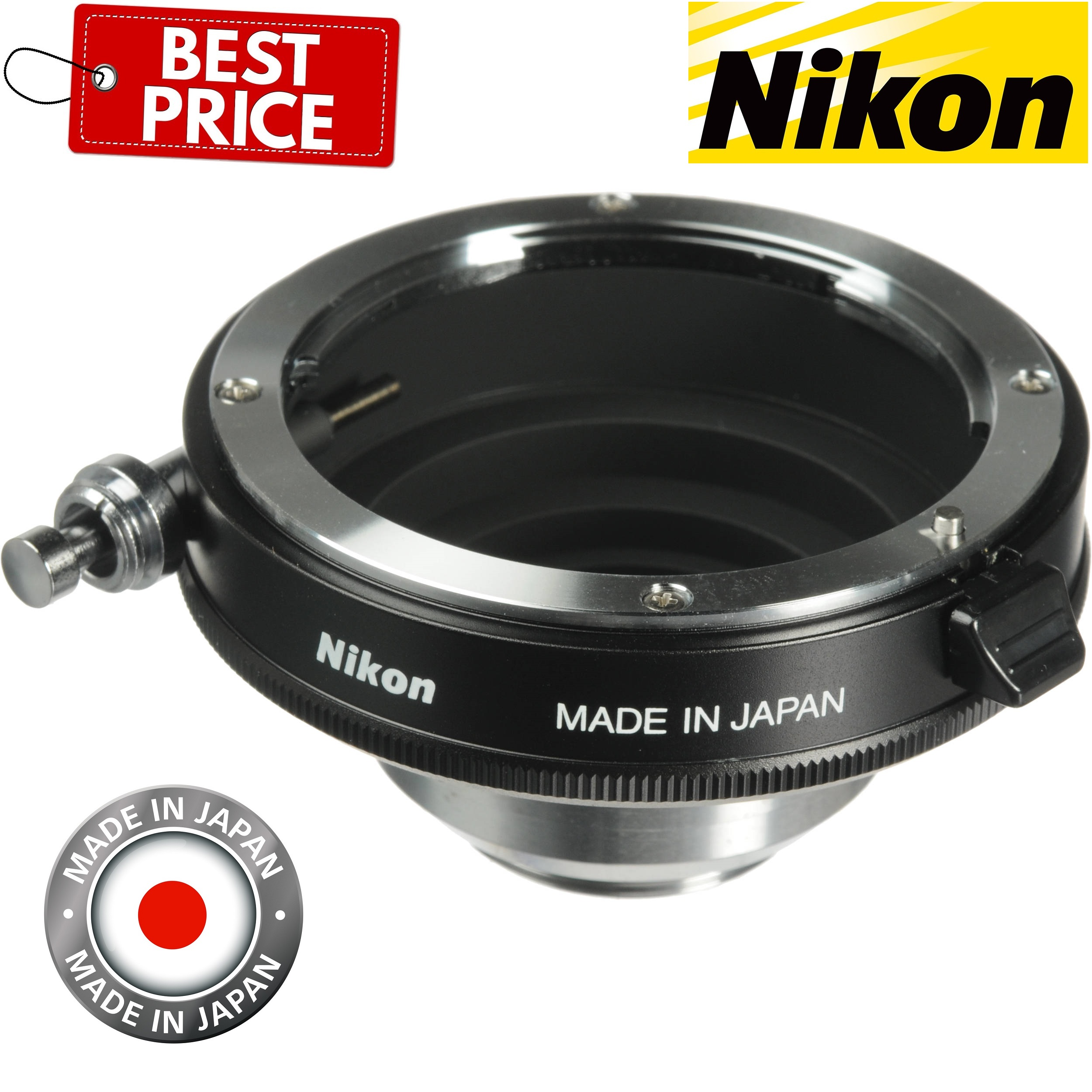 Nikon F to C_Mount Lens Mounting Adapter For Nikon Lens