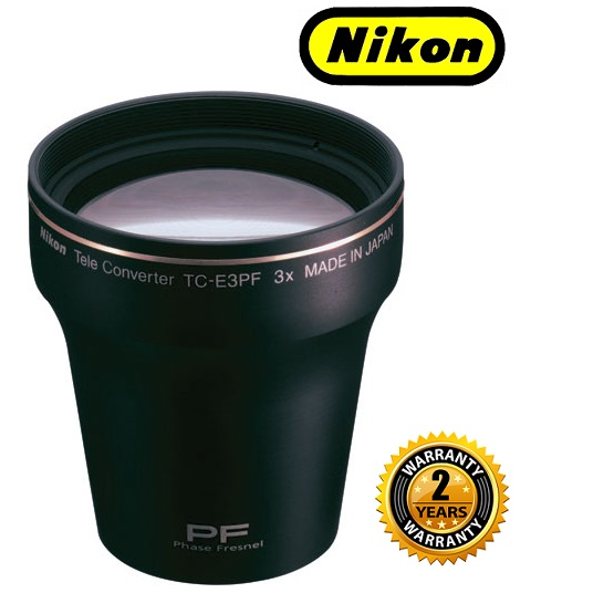 Nikon TC-E3PF Tele Converterr Lens for Coolpix 8400 Digital Camera