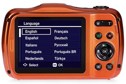 Praktica Luxmedia WP240 Waterproof Camera Orange