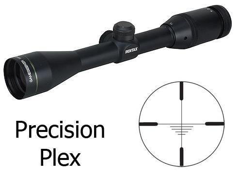 Pentax 1.5-6x40mm Gameseeker Riflescope with Precision Plex Reticle