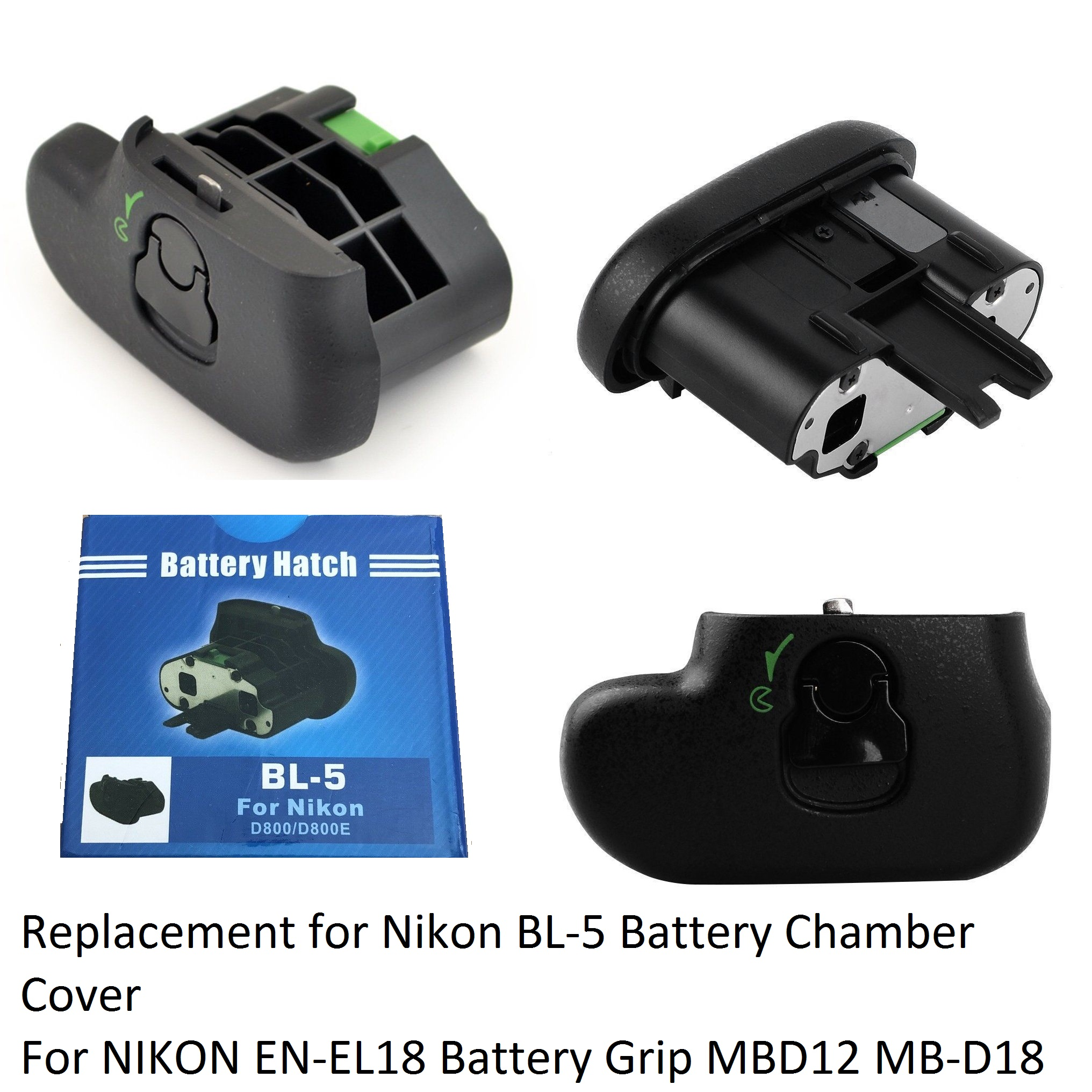 Replacement for Nikon BL-5 Battery Chamber Cover