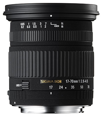 SIGMA 17-70MM DC Macro Lens F2:8-4:5 Sony Fit