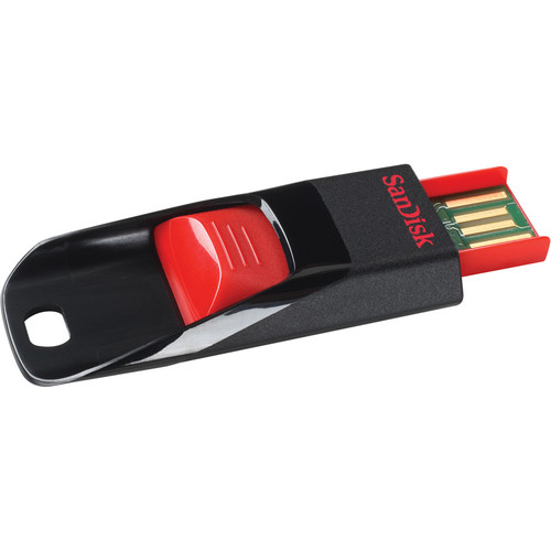SanDisk 16GB Cruzer Blade USB 2.0 Flash Drive