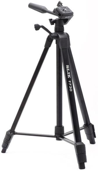 Slik F730 Photo/Video Tripod