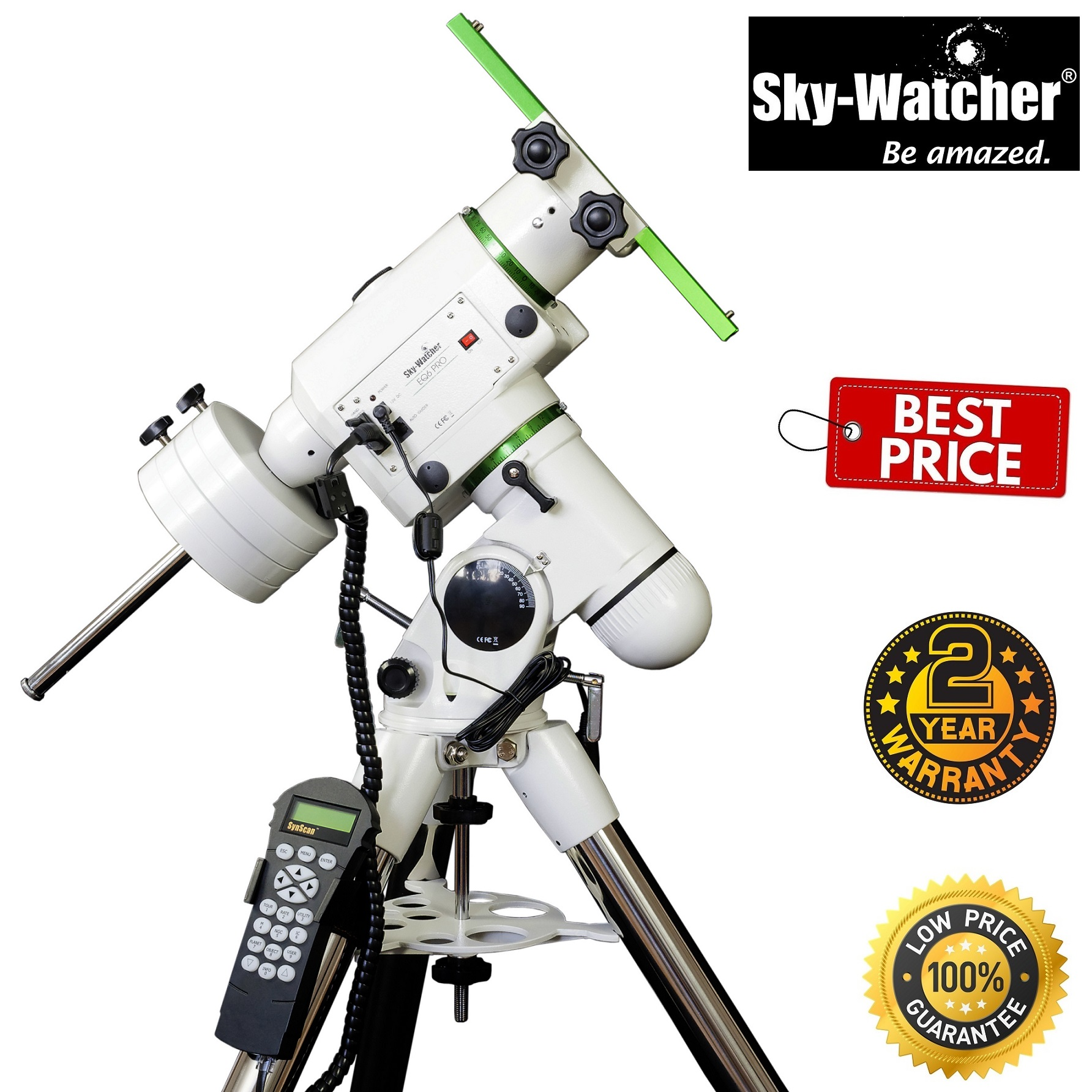 Sky-Watcher EQ-6 PRO SynScan™ GOTO Super Heavy Duty Equatorial Mount