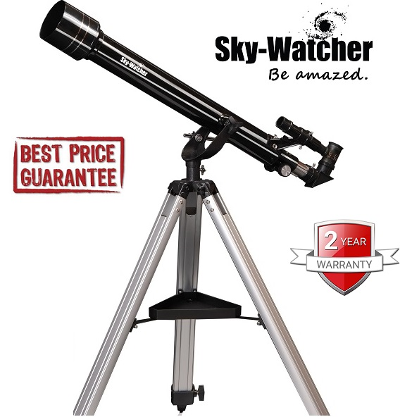 Skywatcher Mercury-607 (AZ) Achromatic Refractor Telescope
