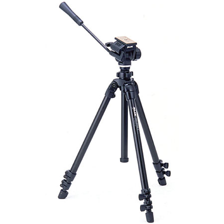 Slik 504QF II Tripod with 3-way Fluid Pan Head & Quick Release