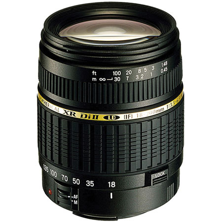 Tamron 18-200mm f/3.5-6.3 XR DI II LD Asp AF Zoom for Pentax
