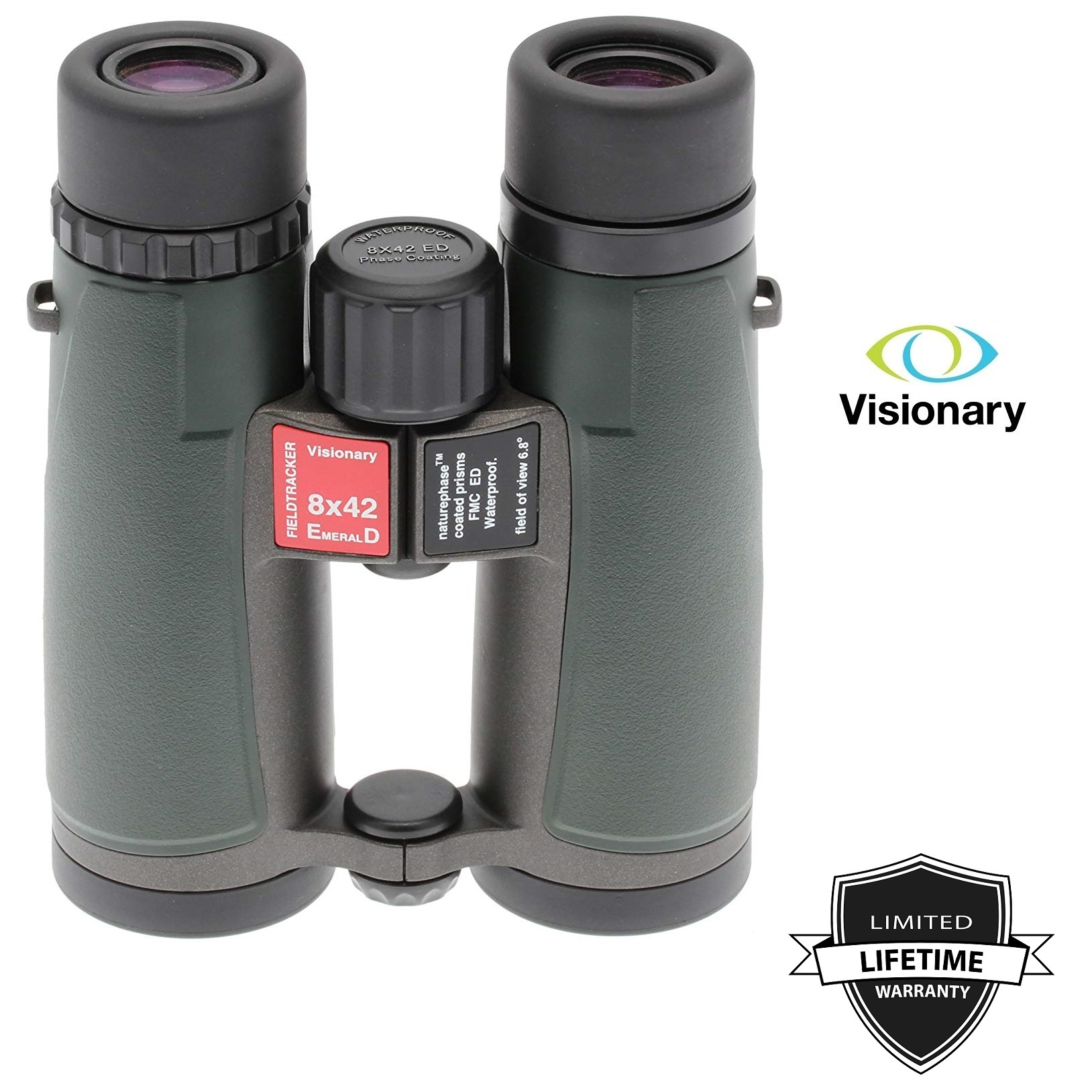 Visionary ED 8x42 Fieldtracker Emerald Binocular
