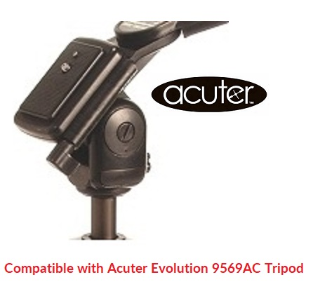 Acuter Quick Release Shoe For Evolution 9569AC Tripod