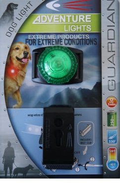 Adventure Lights Guardian Dog Light Green