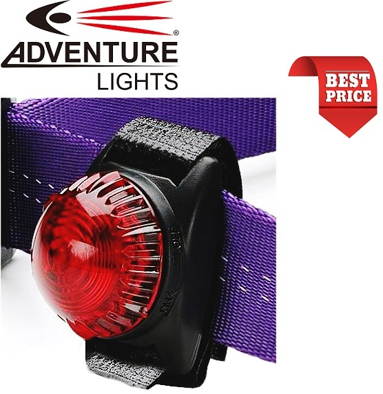 Microglobe Adventure Lights Guardian Dog Light Red
