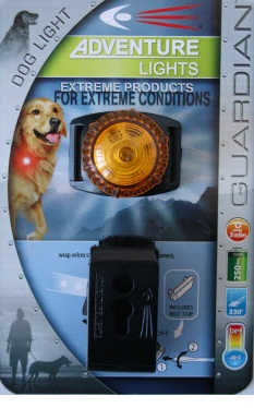 Adventure Lights Guardian Dog Light Yellow