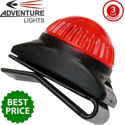 Adventure Lights Guardian Expedition Light Red
