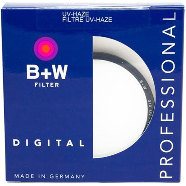 B+W 77mm E F-Pro Digital 010 Single Coated UV Haze Filter