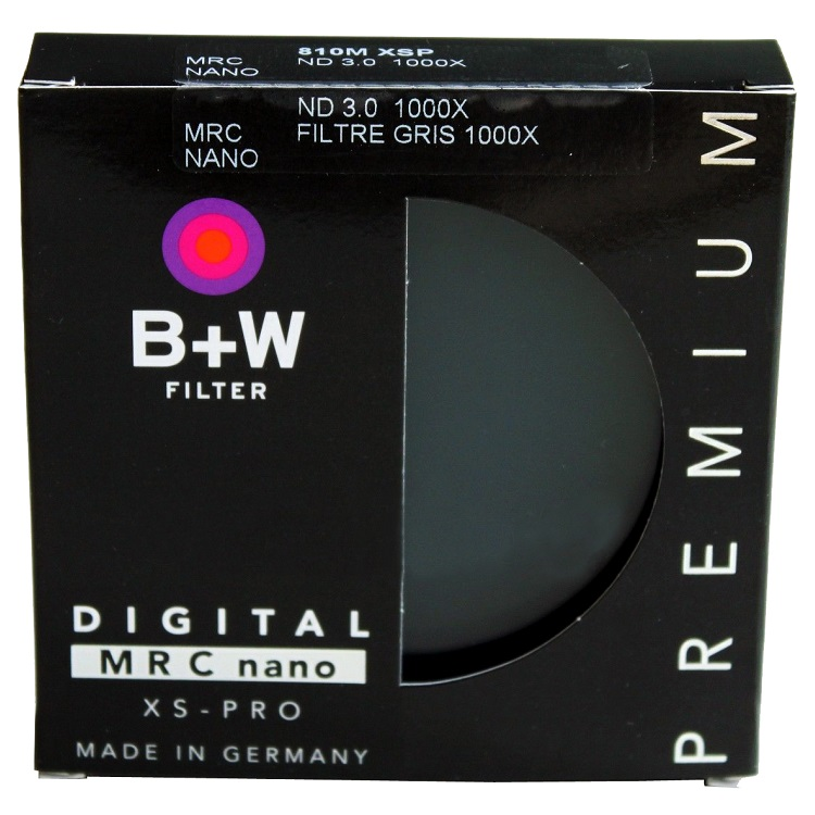 B+W 77mm XS-Pro MRC-Nano 810 Solid Neutral Density 3.0 Digital Filter