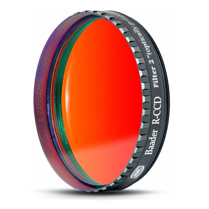Baader 2 Inch R-CCD Filter (optically polished) With LPFC