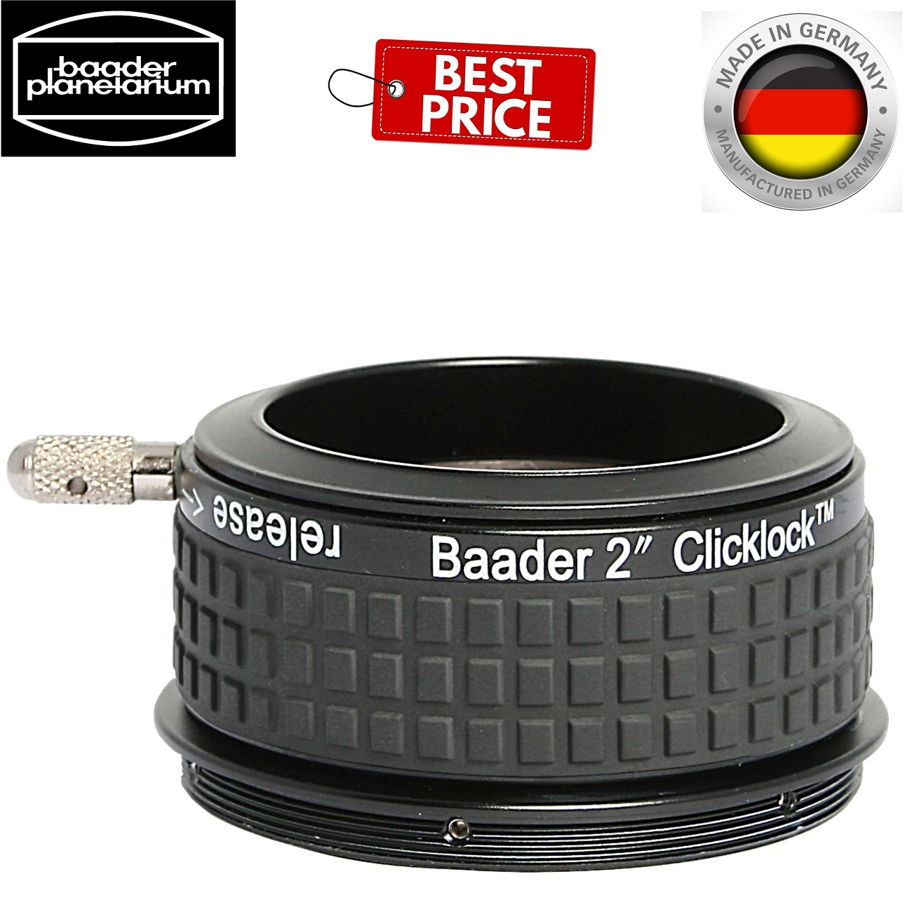 Baader 2Inch Clicklock Adapter For Astrophysics 2.7 Inch Thread
