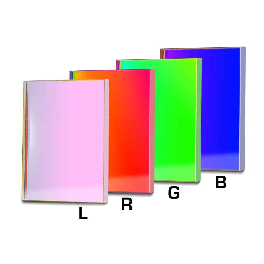 Baader 65x65mm LRGB CCD 4 Pieces Filterset