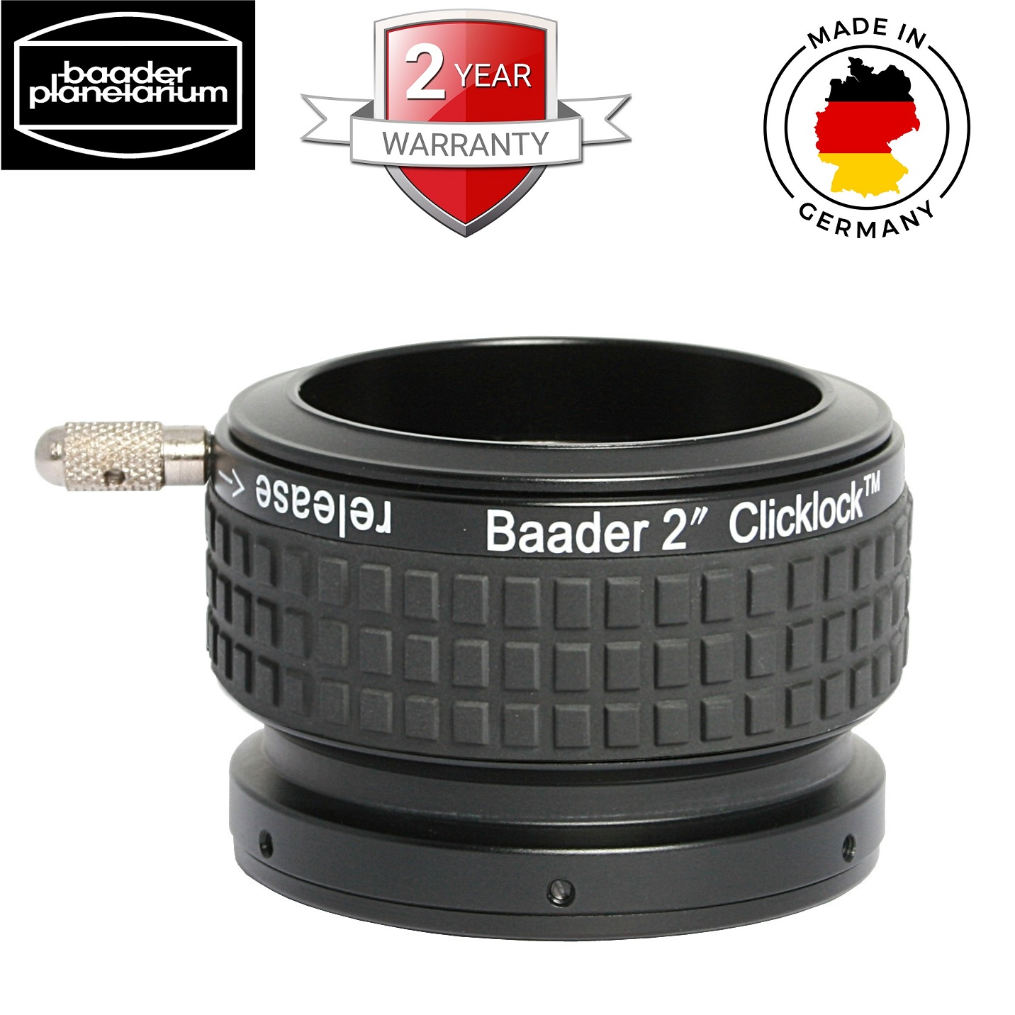 Baader 2 inch Clicklock Clamp S58 For Steeltrack Diamond Focusers