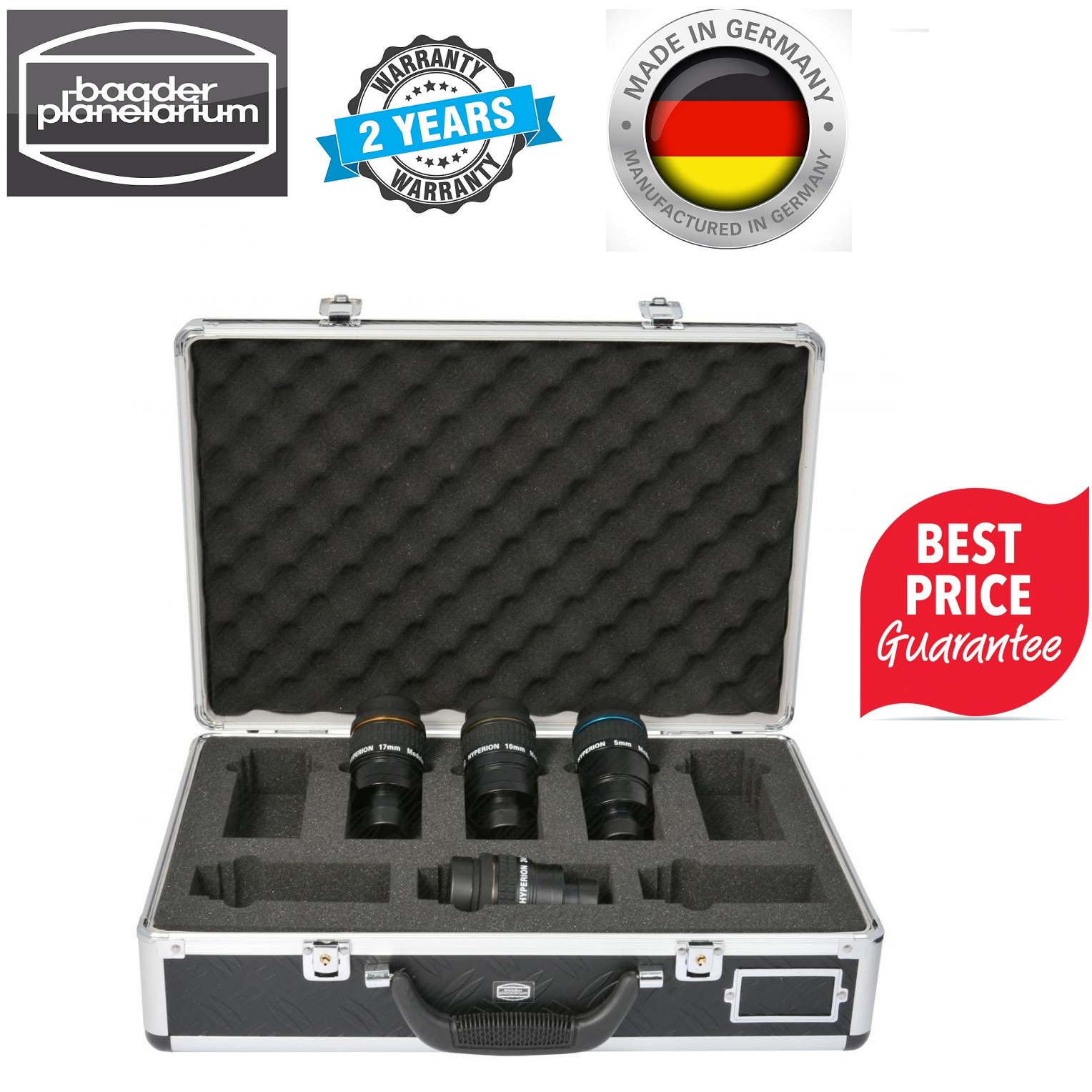 Baader Hyperion Eyepieces Starter Set With Carry Case