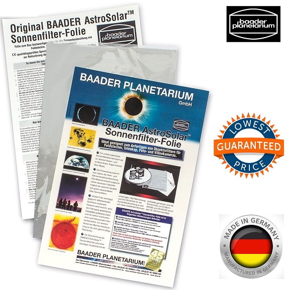 Baader AstroSolar A4 ND5.0 Safety Film