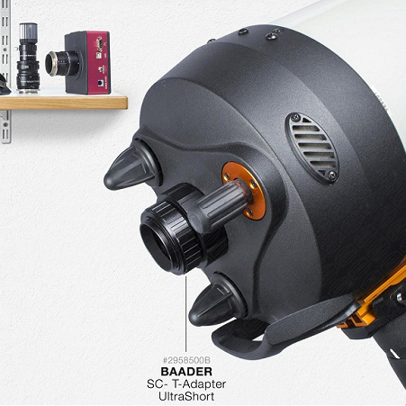 Baader SC/HD Ultra Short T-Adaptor