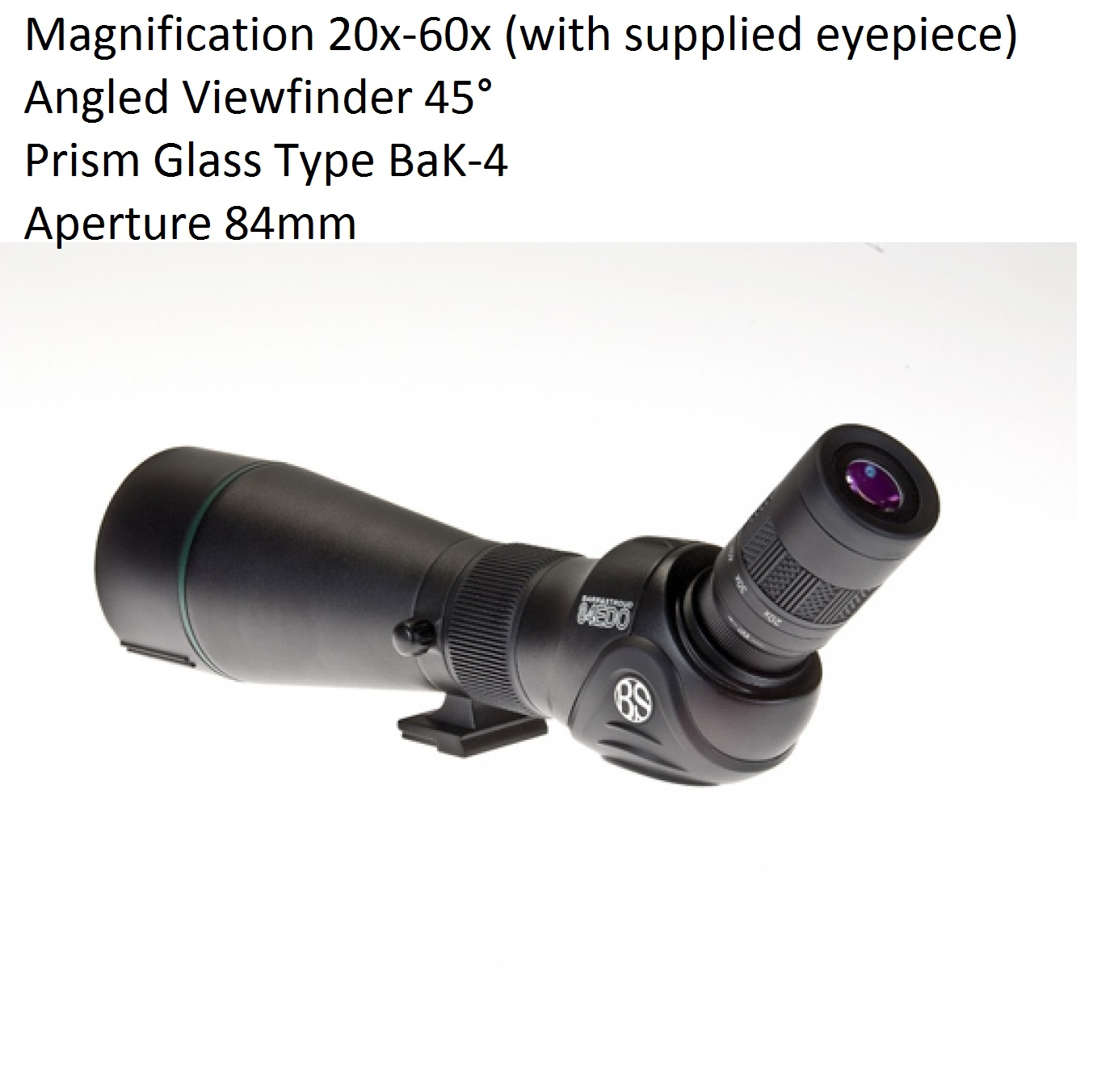 Barr and Stroud Sierra 20-60x84ED Deluxe Spotting Scope