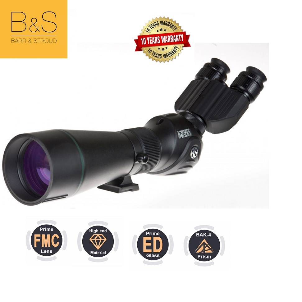 Barr and Stroud Sierra 20-60x84ED Deluxe Spotting Scope with Binoview