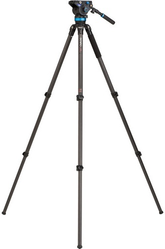 Benro C373FBS8 Carbon Fibre Video Tripod Kit