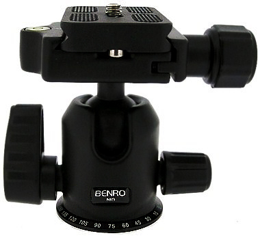 Benro N0 Dual Action Ball Head With PU50 Quick Release Plate