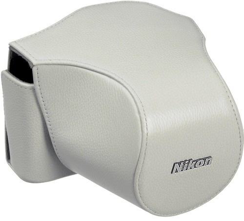 Nikon White CB-N1000 Body Case For Nikon 1, V1 Camera