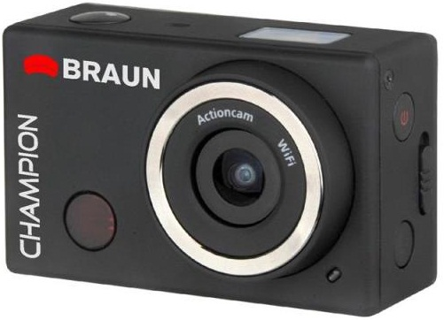 Braun Champion 1080p Full HD Camera