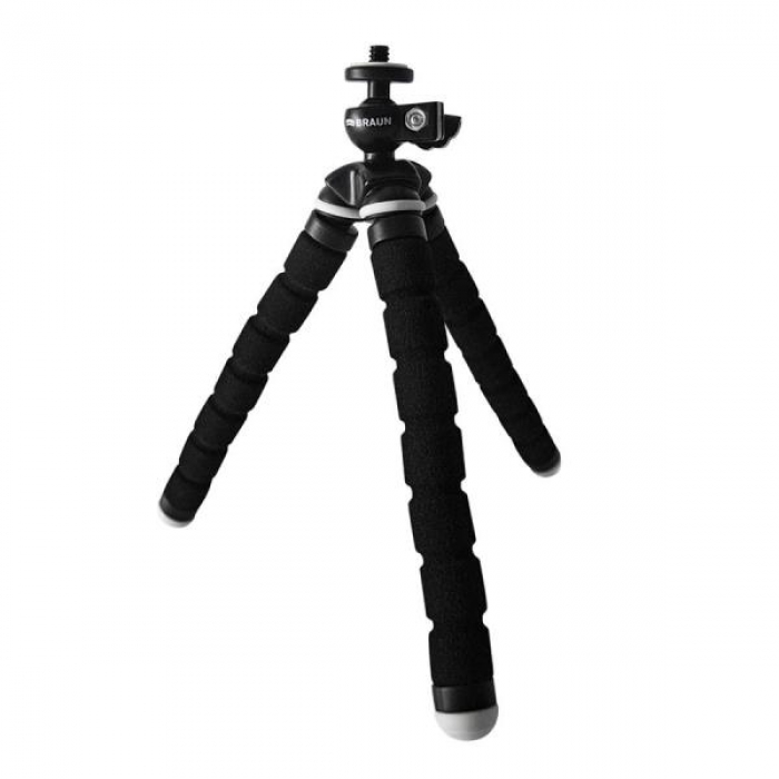 Braun Table Tripod Flexi II Black