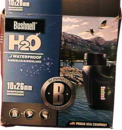 Bushnell 10x26 Compact H2O WP Porro Prism Binoculars