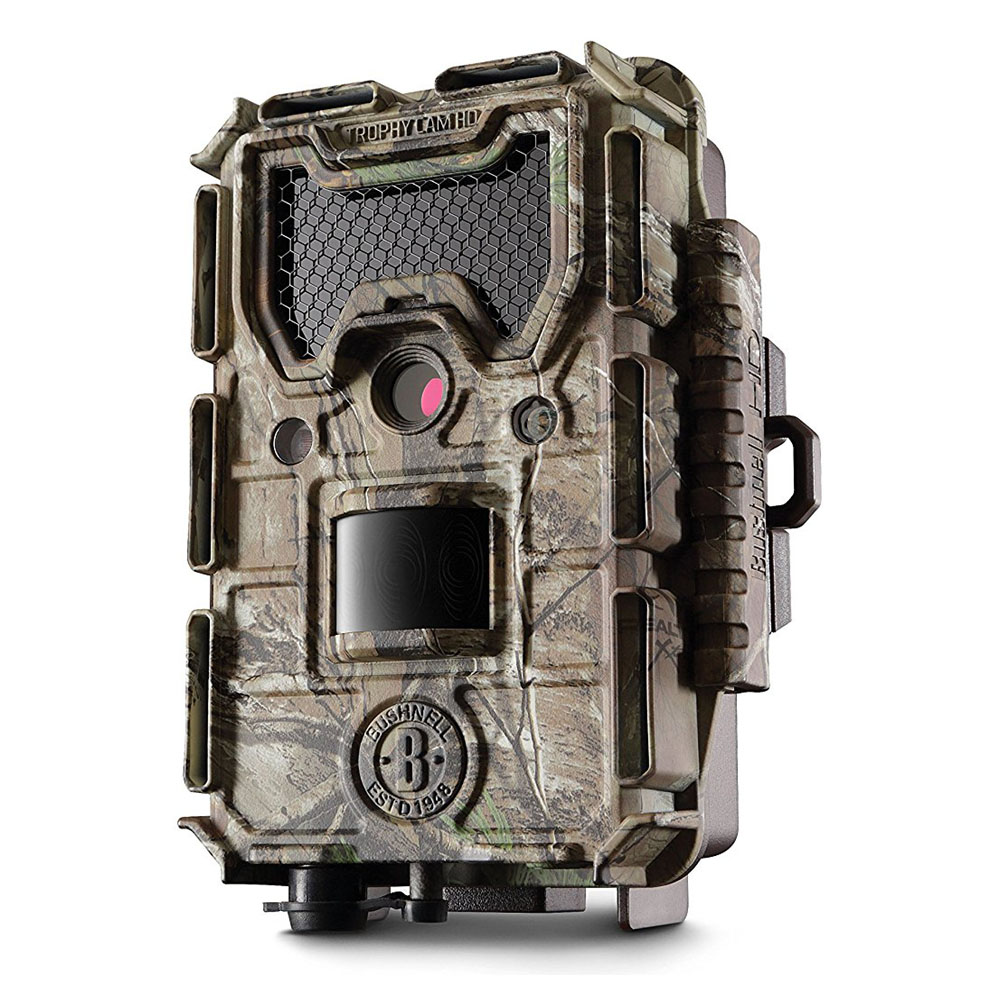 bushnell 14mp trophy cam hd aggressor no glow trail camera realtree 119777 london. Black Bedroom Furniture Sets. Home Design Ideas