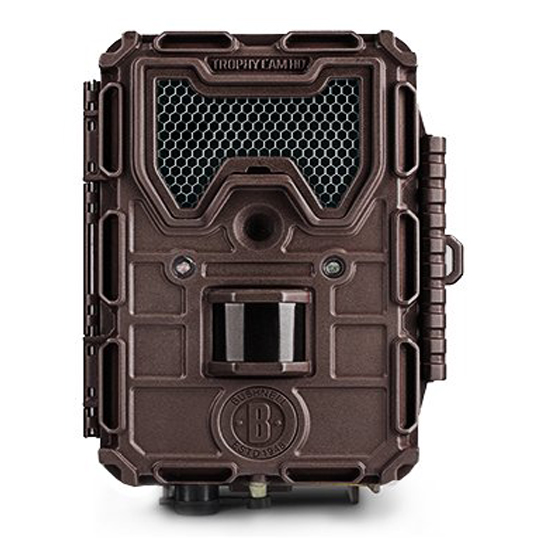 bushnell 14mp trophy cam hd aggressor low glow trail camera brown. Black Bedroom Furniture Sets. Home Design Ideas