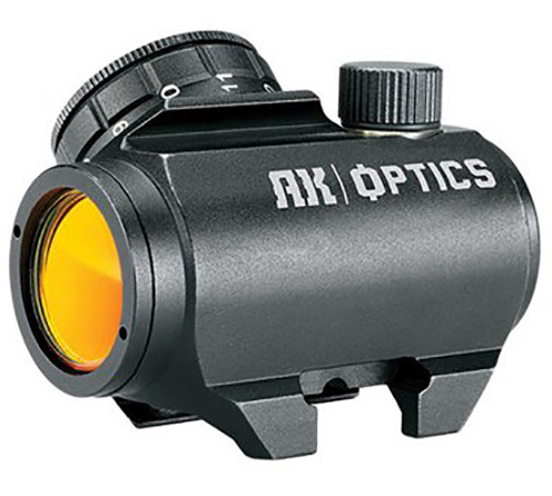 Bushnell TRS 1x25 AK Trophy Rifle Sight (3 MOA Red-Dot Reticle)