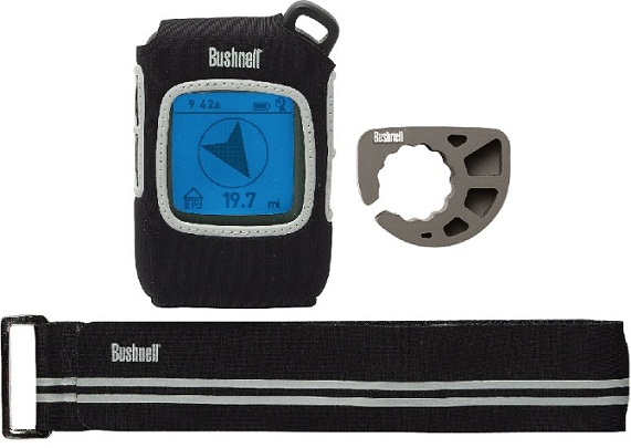 Bushnell BackTrack D-Tour Bike Mount and Strap Black