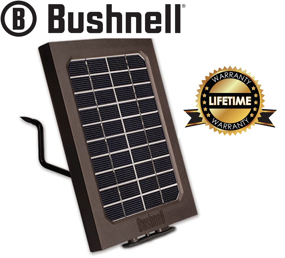 Bushnell Trophy Cam HD Solar Panel For Selected Trail Cam Cameras