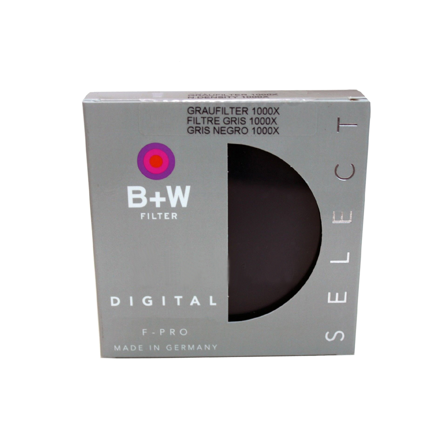 B+W 55mm Single Coated 110 Solid Neutral Density 3.0 Filter