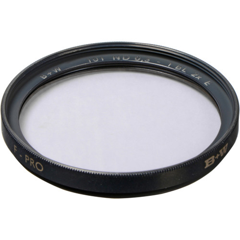 B+W 37mm Single Coated 101 Solid Neutral Density 0.3 Filter