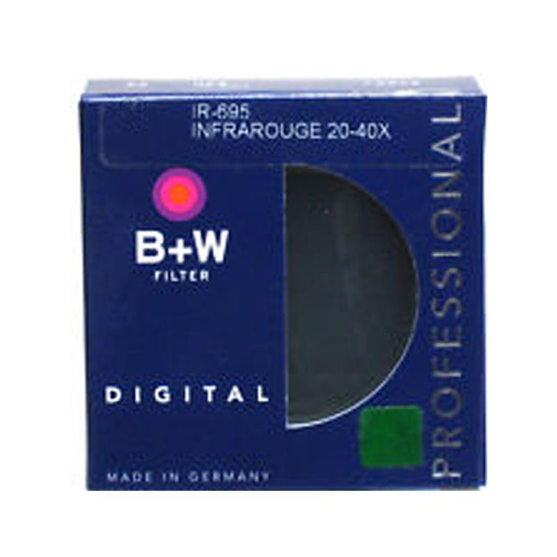 B W 58mm Infrared Dark Red 092 Filter