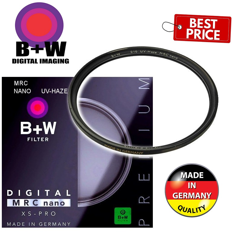 B+W 43mm XS-Pro UV Haze MRC-Nano 010M Filter