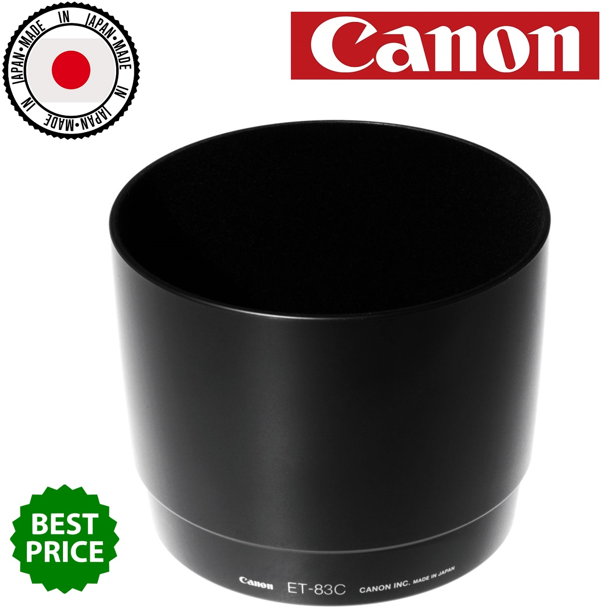 Canon ET-83C Lens Hood Designed for EF 100-400mm f4.5-5.6L IS Lens