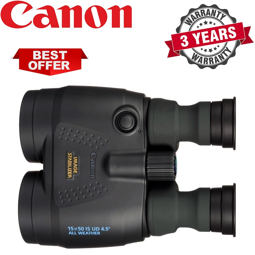 Canon 15x50 IS, Weather Resistant Image Stabilized Binocular